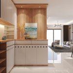 Cho thuê gấp căn hộ Newton Residence 1300$/tháng căn góc 3 phòng ngủ 97m2