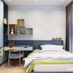 Thiết kế căn hộ Newton 3 phòng ngủ đẳng cấp