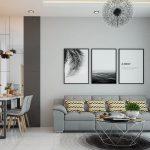 Cần bán căn hộ Newton 2PN, tầng trung, 76m2, giá nhà HTCB 4.5 tỷ
